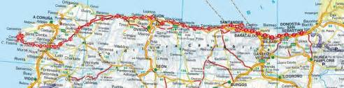 rother guide de randonn 233 es camino norte chemin de