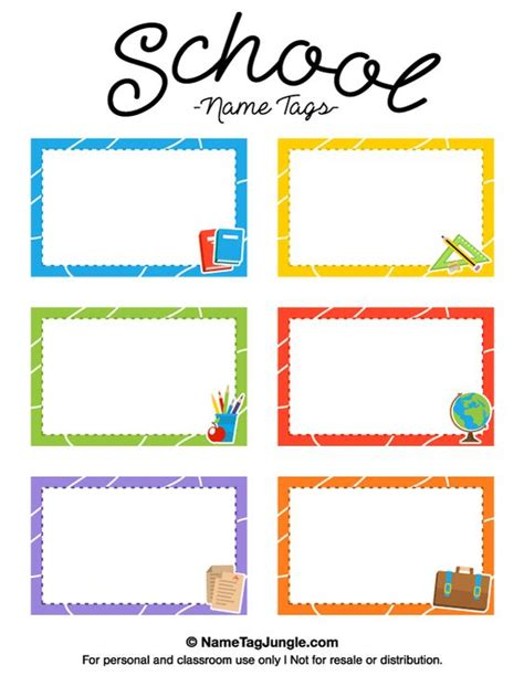 printable name tags pdf free printable school name tags the template can also be