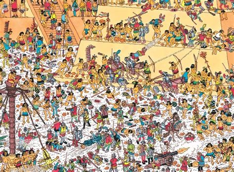 Advent Calendar Where Wally 17 Best Images About Waar Is Wally On