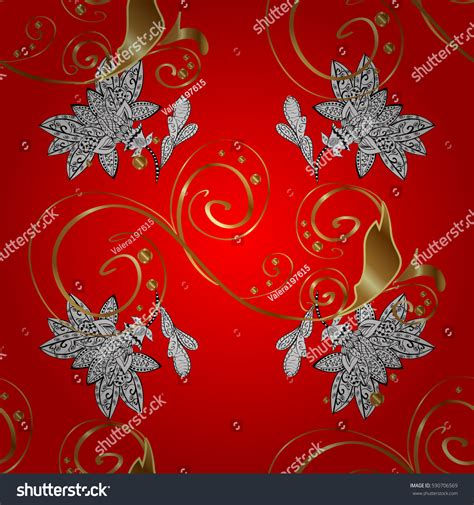 wallpaper classical elements traditional orient ornament classic vintage background