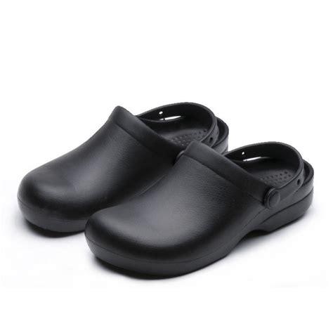 non slip kitchen shoes wako9011 chef shoes black non slip work shoes