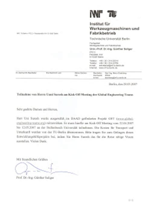 Letter Of Invitation Research Study Unni Suresh My Projects And Achievements Member Of Get Global Engineering Team Germany