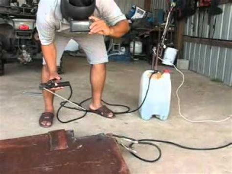 salt water welding machine