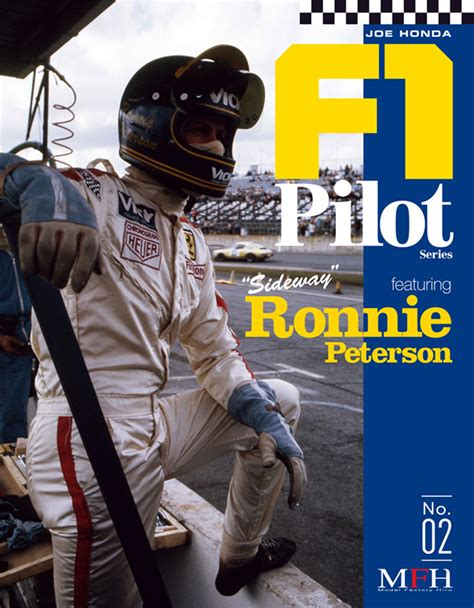 joe honda f1 pilot series vol 02 ronnie peterson