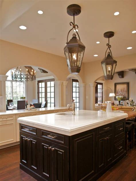lantern lights kitchen island a designer s transitional kitchen ani semerjian hgtv