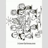 Charlie Brown Christmas Coloring Pages | 719 x 959 gif 160kB