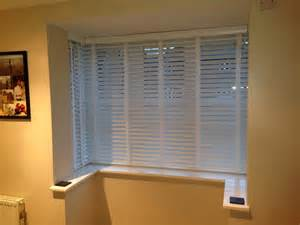 Bay Window Wood Blinds » Home Design 2017