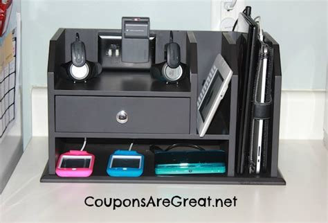 Create A Charging Station | 34 make your own charging station simple home diy ideas