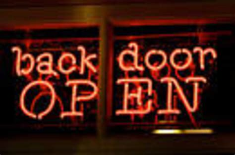 Backdoor Or Back Door by So Linus Torvalds Did Us Spooks Demand A Backdoor In