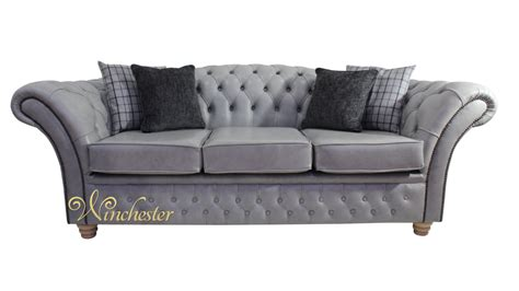 churchill couch chesterfield churchill 3 seater sofa settee stella