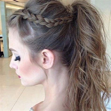 Fancy Ponytail Hairstyles by Fancy Ponytail Prom Fancy Ponytail Braid
