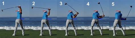 dustin johnson swing sequence critical analysis of theories