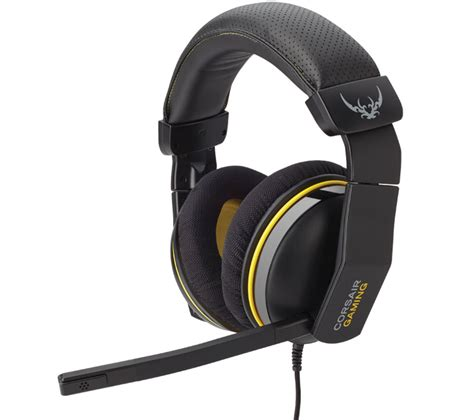 Headset Gaming Corsair corsair 1500 7 1 gaming headset gunmetal yellow