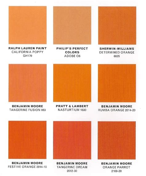 orange shades names gretchenjonesnyc orange is about to be big ideas