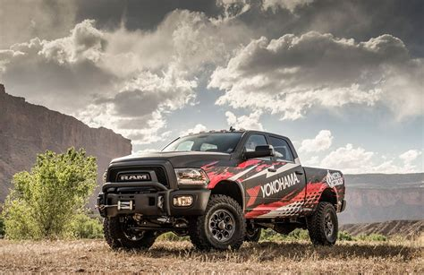 Tire Sweepstakes 2017 - yokohama to giveaway cool custom 2017 ram 2500 power wagon during yokohama nitro