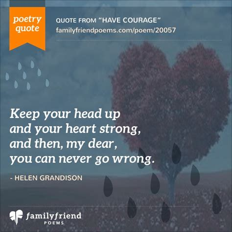 courage courage poem