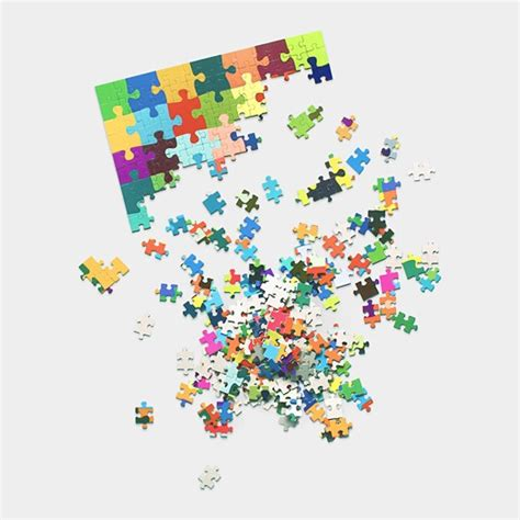 Puzzle Part puzzle pieces linking your part to the whole