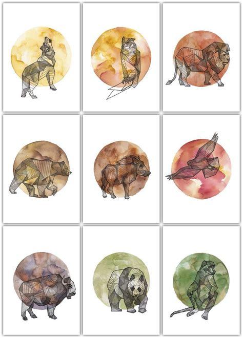 geometric tattoos animals 29 best rhino images on rhinos geometric