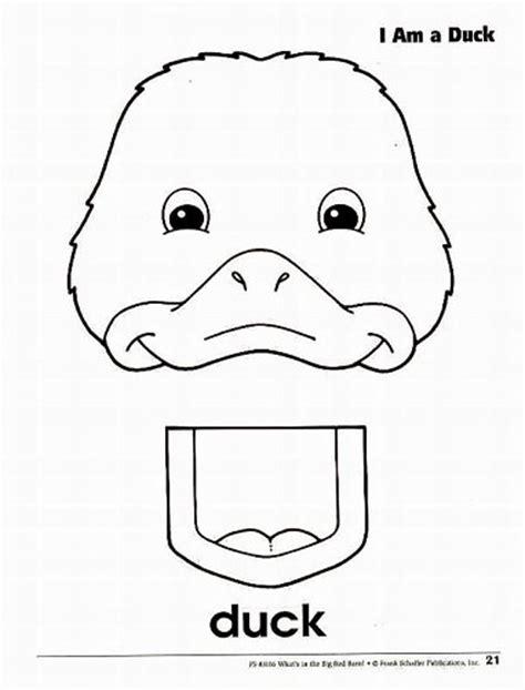 animal puppet templates photo 21 duck farm animal paper bag puppets album