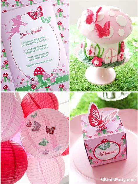 printable garden party decorations razzle dazzle party box themed birthday party fairy