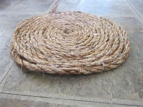 sisal rope rug diy sisal rug