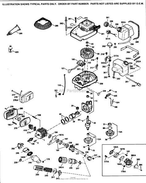 2 parts diagram tecumseh tc300 3044d parts diagram for engine parts list