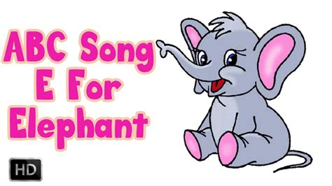 song e alphabet song abcd e for elephant phonics song with