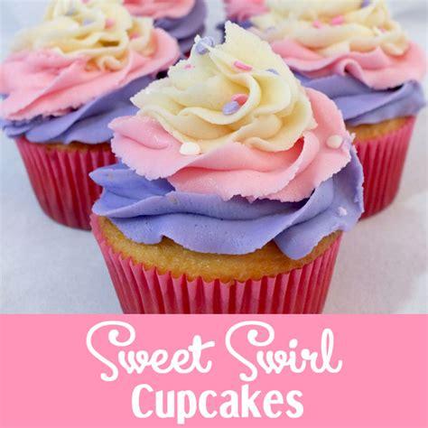 sweet swirl cupcakes  sisters crafting