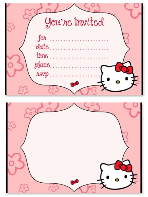 hello birthday card template hello birthday invitations for