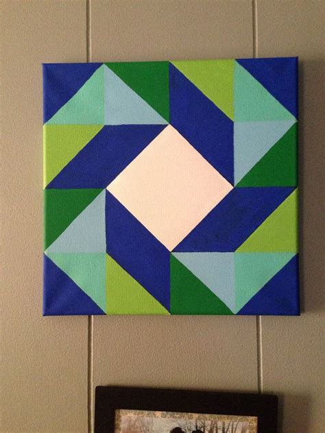 pattern canvas art barn quilt design painting canvas painting acrylic by