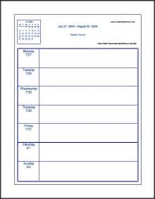 Free Weekly Calendar Templates 2014 by Printable 2014 Weekly Planner Template New Calendar