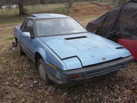 2 1987 subaru xt for sale subaru xt xg4 1987 for sale in rutherfordton north carolina