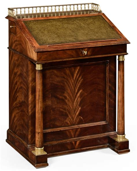 classic antique reproduction furniture davenport cabinet