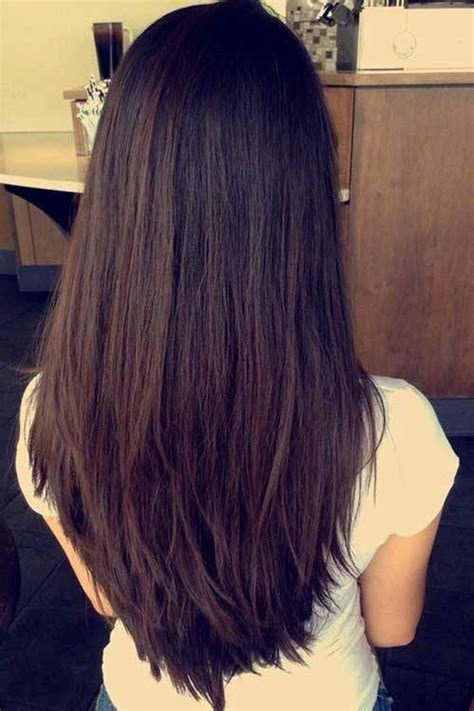 how to cut hair in u shape 20 superb layered hairstyles for long hair