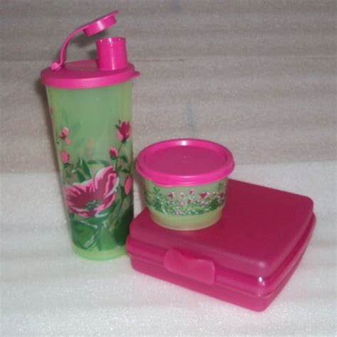 Tupperware Lunch Box Pink lunch boxes for tupperware pink lunch box set