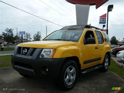 2006 solar yellow nissan xterra se 6139223 gtcarlot car color galleries