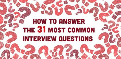 how to answer 31 most common questions part 2 the insyder