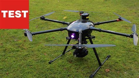 Yuneec Tornado H920: Probeflug mit der Profi Drohne