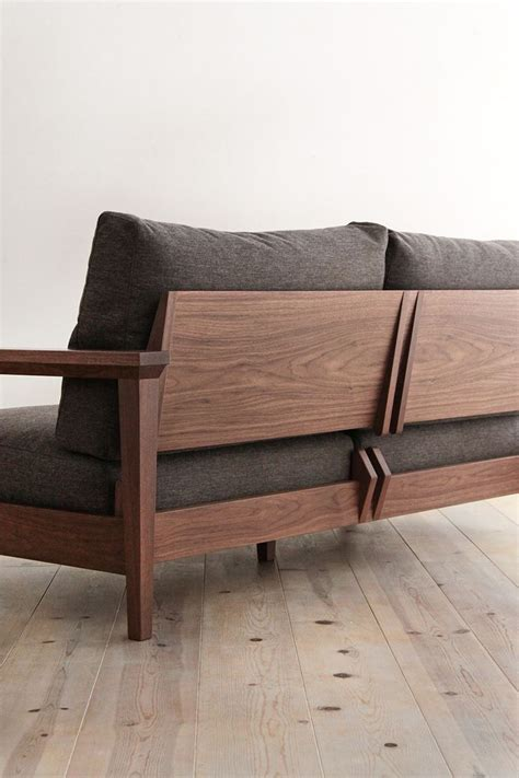 wooden couch the 25 best wooden sofa ideas on pinterest