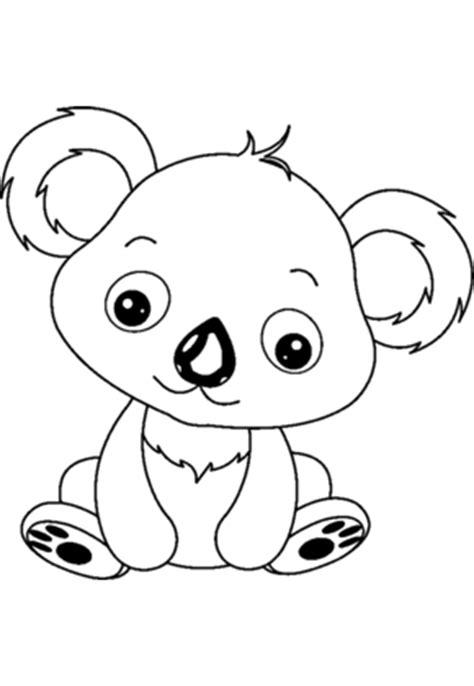 Coloriage Bebe Koala Hugolescargot Com L L L L L L L L L L L