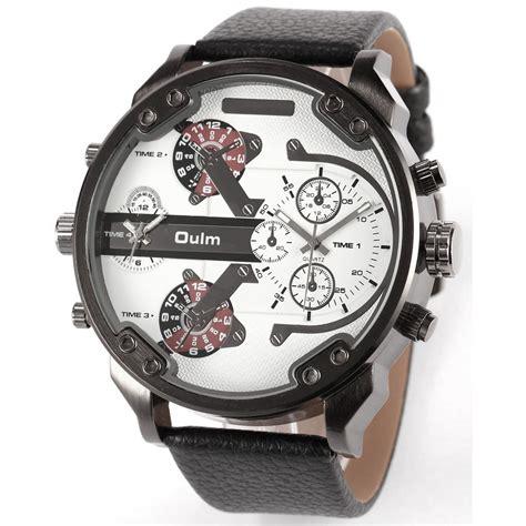 Jam Tangan Dw Free Leather oulm jam tangan analog leather 3548 white jakartanotebook