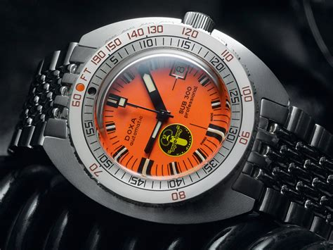 doxa dive doxa sub 300 black lung re issue dive ablogtowatch