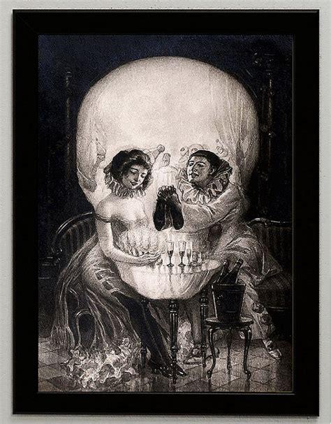 ilusiones opticas salvador dali illusion the style of salvador dali love piero skull canvas
