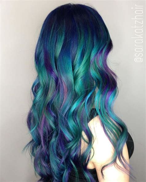 green and purple l shade 20 balayage and ombre mermaid hair ideas to rock styleoholic