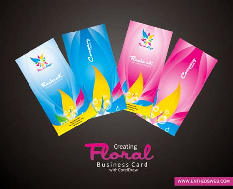 Free Visiting Card Templates For Coreldraw by Business Card Design In Coreldraw