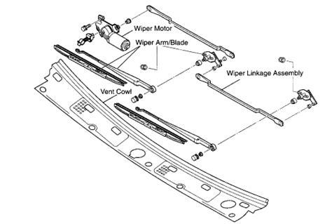 windshield wiper assembly diagram honda cr v 2004 windshield wiper parts diagram honda