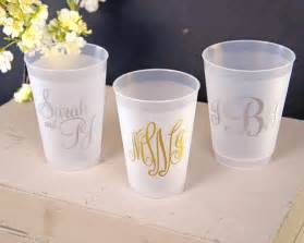 Cups For Wedding Favors by Personalized Shatterproof Cups