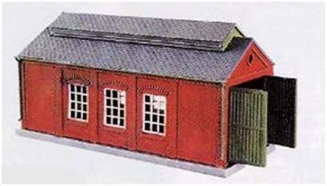 Peco Engine Shed hattons co uk peco products nb 5 engine shed brick