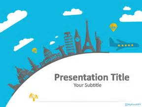 world powerpoint template free travel plan powerpoint templates myfreeppt