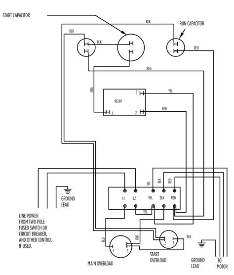 ajax electric motor wiring diagram electric free printable